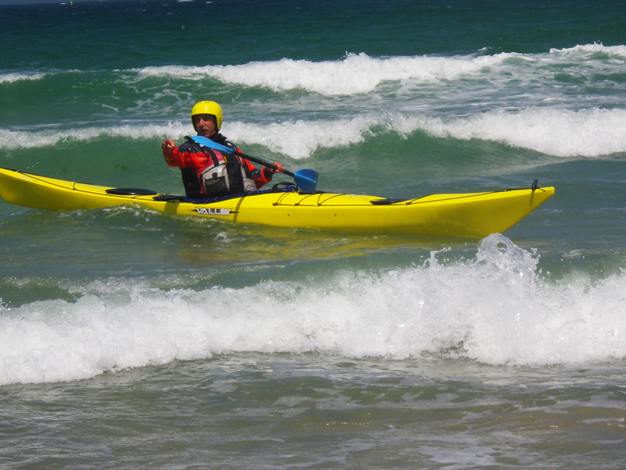 le kayak de mer traditionnel